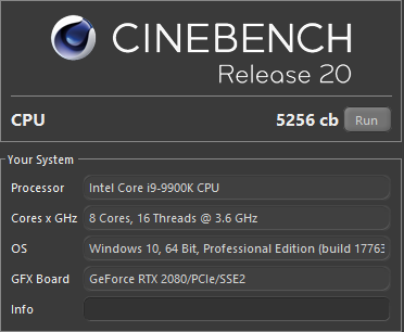 Cinebench R20, i9-9900 5Ghz, DDR4 3600Mhz, CL16.png